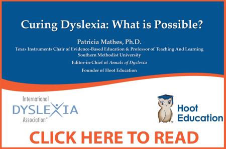Curing Dyslexia