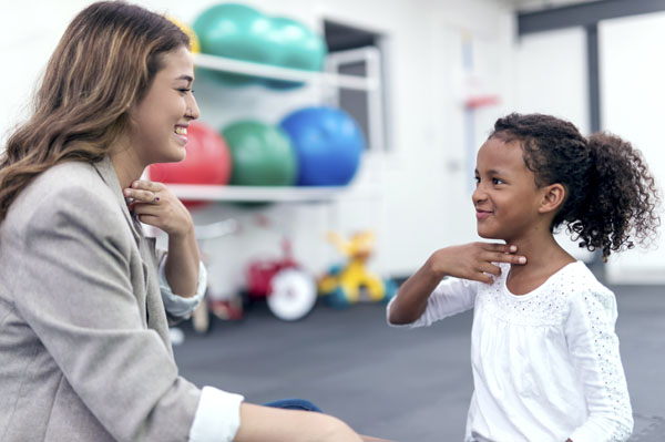 language and speech therapy