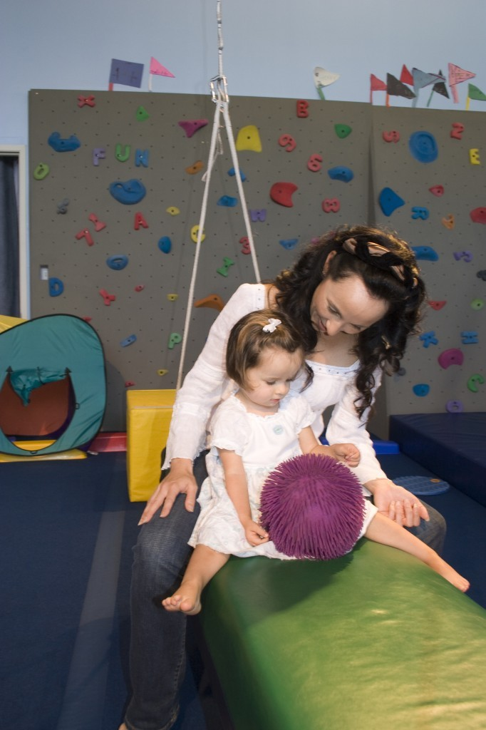 occupational therapy session at Child Success Center Santa Monica