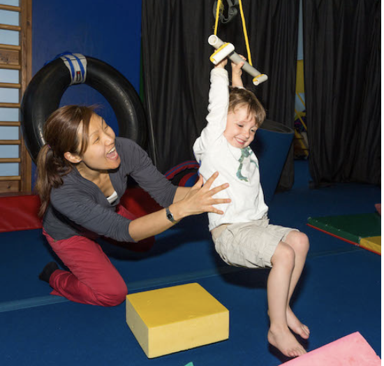 Occupational therapy session at Child Success Center