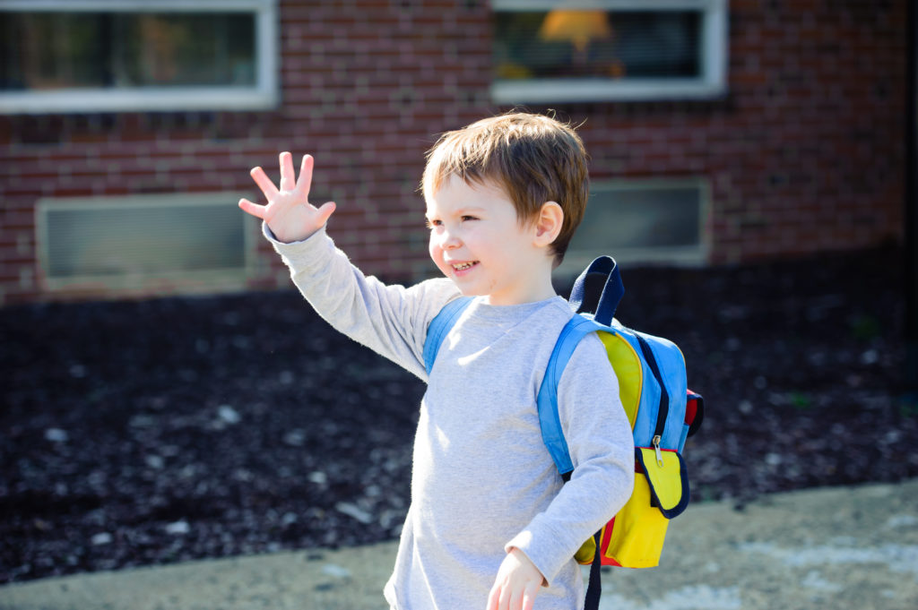 Preparing a child for kindergarten