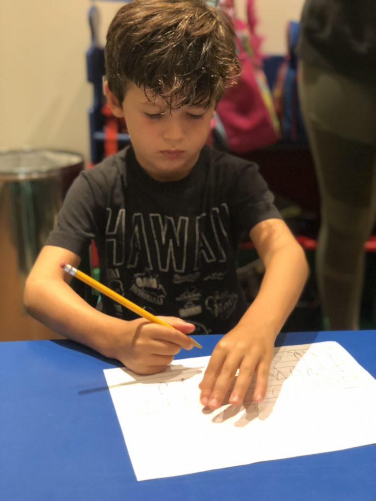 Kindergarten - fine motor skills